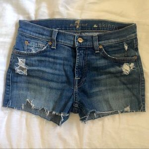 7 of All Mankind Cut off Shorts